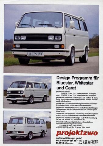 SPOILER TECHO VW T3 PROJEKT ZWO - foto 1