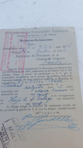 AVISO FERROCARRILES A CAMARA COMERCIO - foto 2
