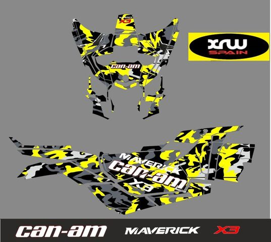 CAN AM X3.  KIT ADHESIVOS - foto 2