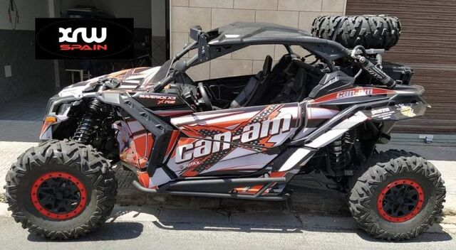 CAN AM X3.  KIT ADHESIVOS - foto 4