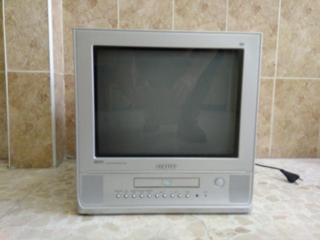 TELEVISOR 15 PULGADAS + DVD - foto 1