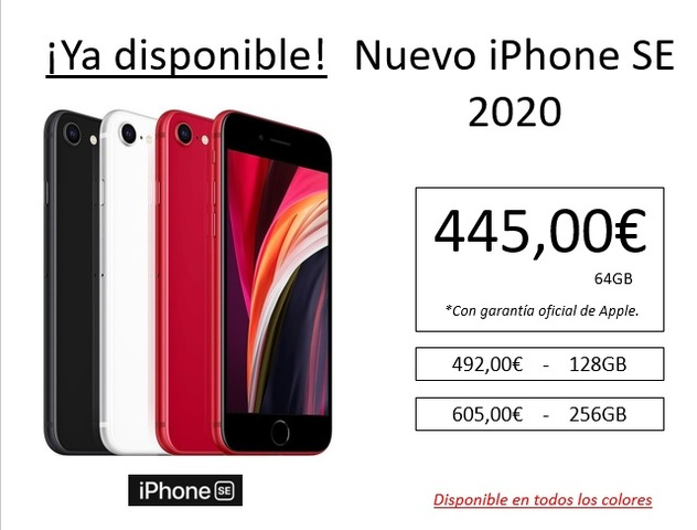 IPHONE SE 2020   YA DISPONIBLE - foto 1