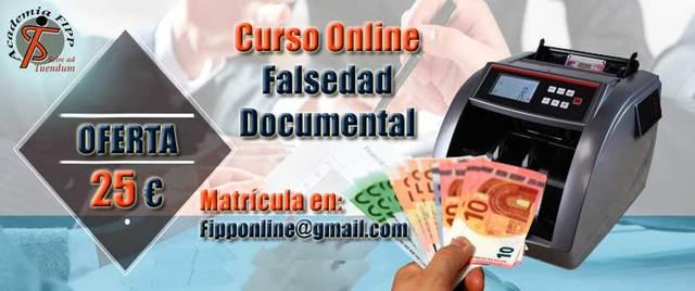 CURSO FALSEDAD DOCUMENTAL - foto 1