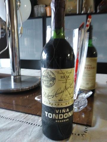 Vino Botella Viña Tondonia Reserva 1996
