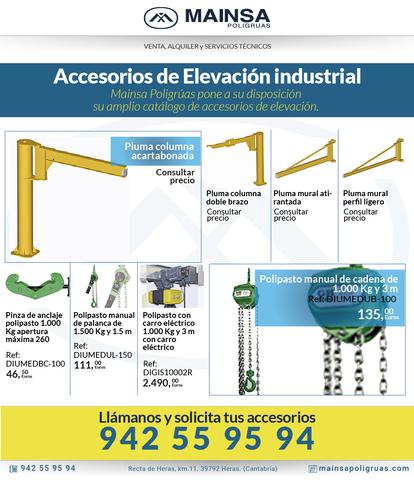 ACCESORIOS DE ELEVACIÓN INDUSTRIAL.  POLI - foto 1