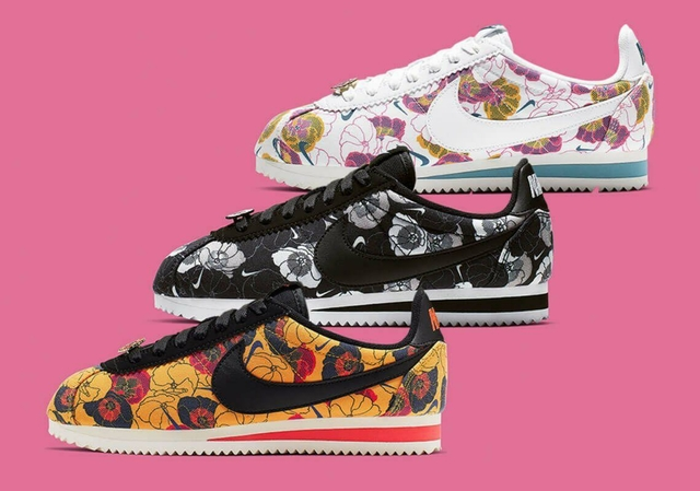 nike flores mujer zapatos
