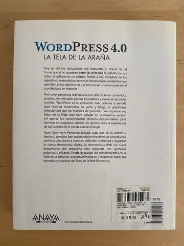 LIBRO WORDPRESS 4. 0 - foto 2