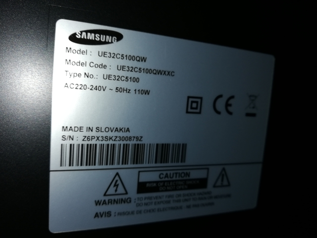 "TV SAMSUNG LED 32"" PULGADAS FULL HD - foto 4"