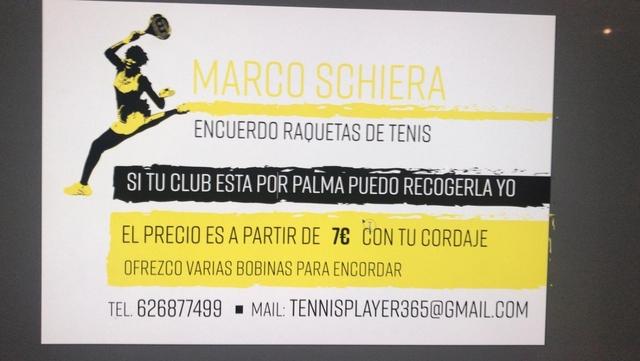 Encuerdo Raquetas De Tenis