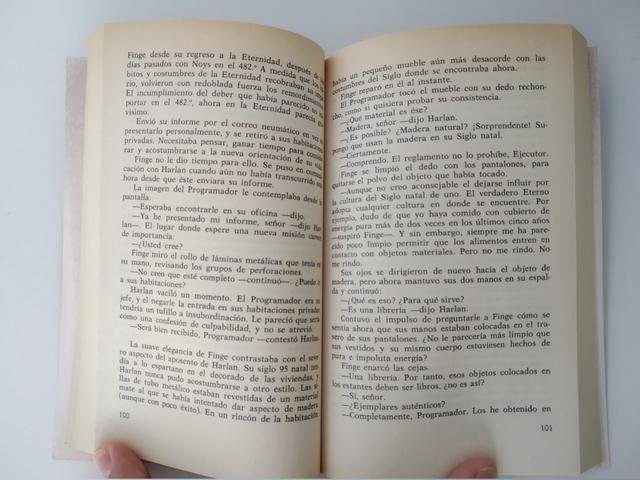 LIBRO - EL FIN DE LA ETERNIDAD - ASIMOV - foto 3