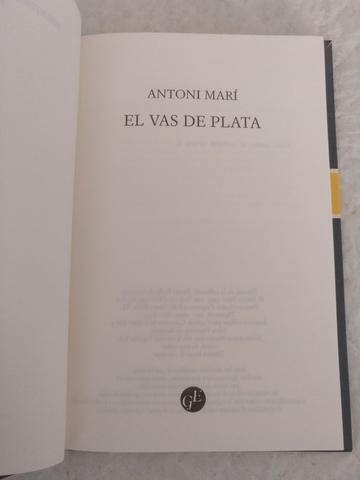 EL VAS DE PLATA.  LIBRO - foto 2