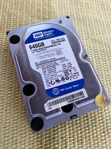 HD WD 3, 5 SATA 640 GB.  - foto 1