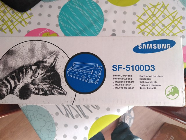 TONER SAMSUNG SF-51000D3 Y LASERJET - foto 2