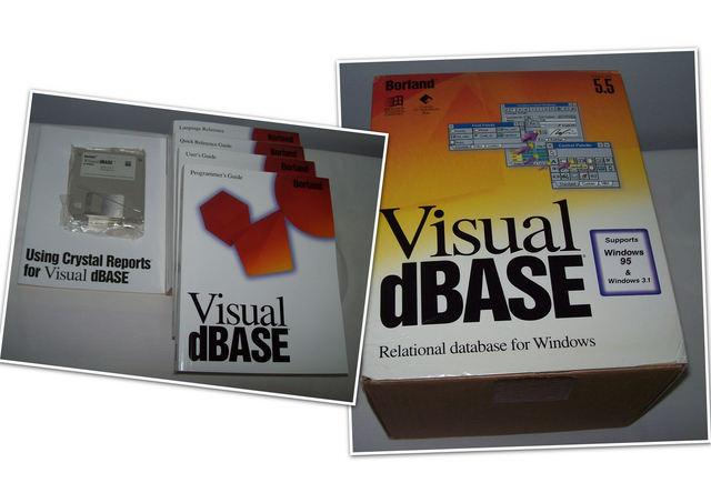 SOFTWARE ORIGINAL VISUAL DBASE V5. 5 C/MA - foto 1