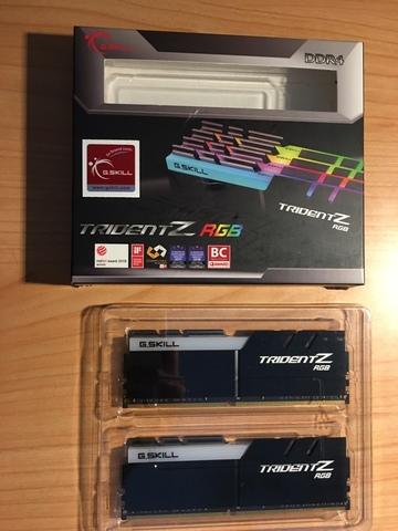 G. SKILL TRIDENT Z RGB 32GB (2X16GB) 3600 - foto 1