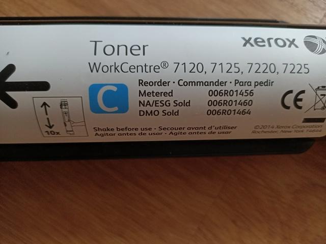 XEROX 7120 LASER TONER CARTRIDGE - foto 3