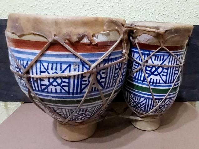 TBILA.  BONGOS  DOBLES MARROQUIES - foto 1