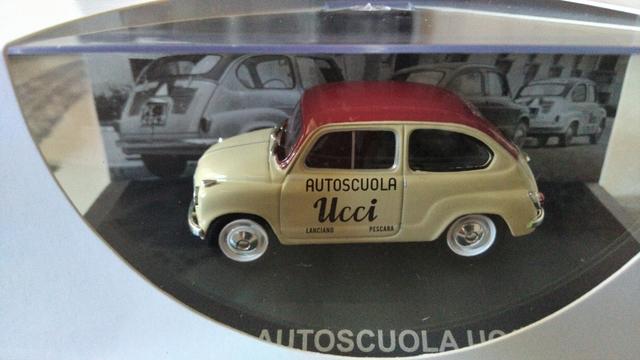 Fiat 600 Autoscuola Ucci 1955 1:43