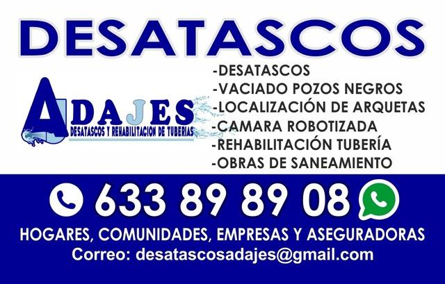 DESATASCOS URGENTES - foto 1