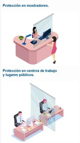 MAMPARA PANTALLA PROTECCIÓN ENRROLLABLE - foto 3