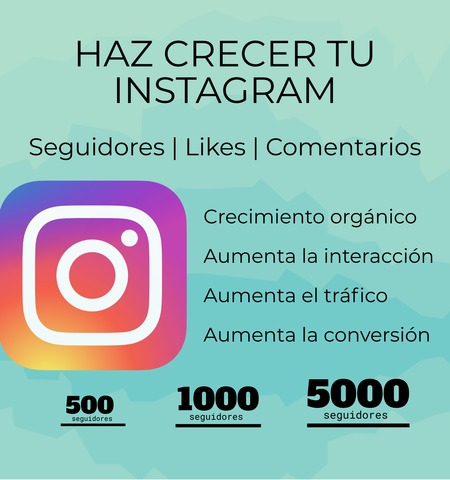 SEGUIDORES INSTAGRAM FACEBOOK YOUTUBE - foto 1