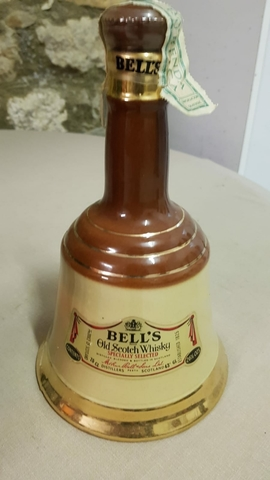 Whisky Bells 1825. Años 70 Con Precinto