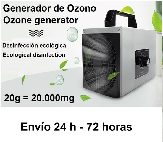 MAQUINA GENERADOR DE OZONO PROFESIONAL - foto 1