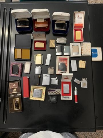 Colección De Mecheros Antiguos