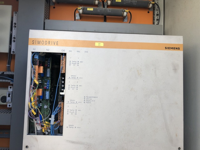 Siemens Simodrive 611 tarjeta de regla 6sn1118-0aa11-0aa0