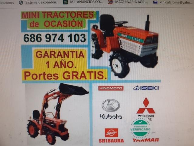 TRACTORES PEQUEÑOS DE OCASIÓN Y NUEVOS - foto 3