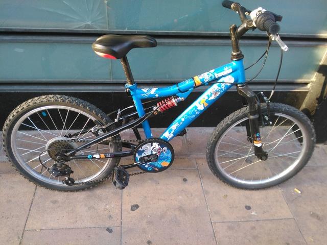 "Bicicleta De Niño 20\"""