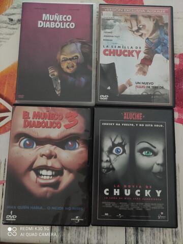 TRILOGIA MUÑECO DIABÓLICO, CHUCKY, DVD - foto 1