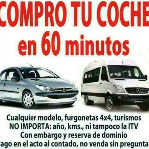 COMPRO COCHES*  MAXIMA TASACION*  - foto 1