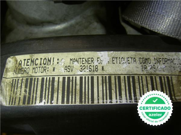 MOTOR COMPLETO SEAT TOLEDO 1M2 031999 - foto 4