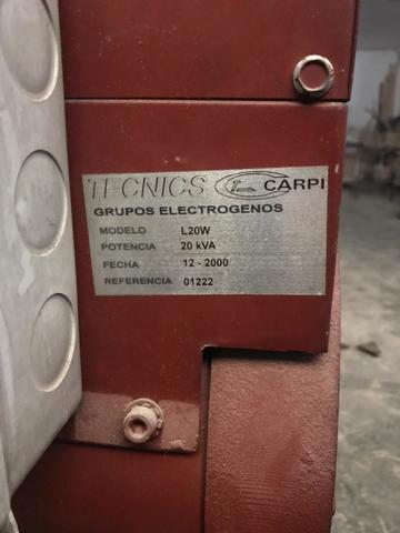 GRUPO ELECTROGENO - foto 2