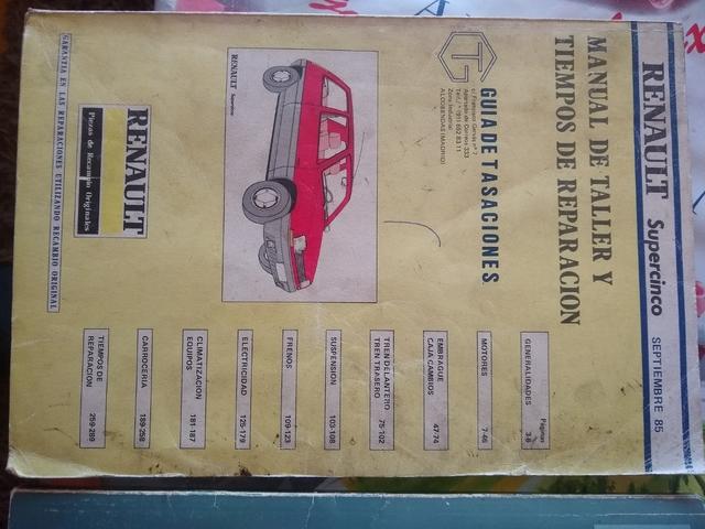MANUAL DE TALLER SUPER 5 Y GT TURBO - foto 1