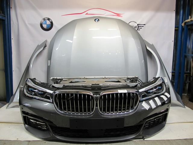 CAPOT PARAGOLPES CINTURON BMW G-11 G-12 - foto 1