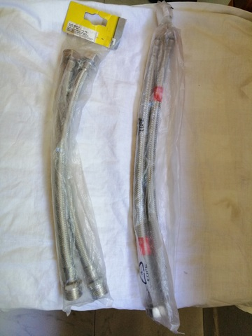 Tubo Flexible De Fontaneria 1/2 X1/2 30C