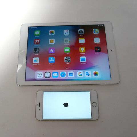 TABLET IPAD AIR RETINA 4G + IPHONE 6S - foto 2