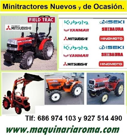 MINITRACTORES DE OCASIÓN.  .  NUEVOS - foto 4