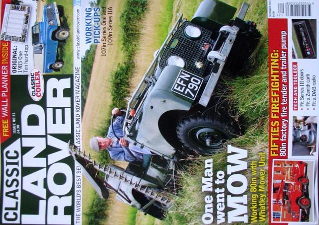 Land Rover Revistas