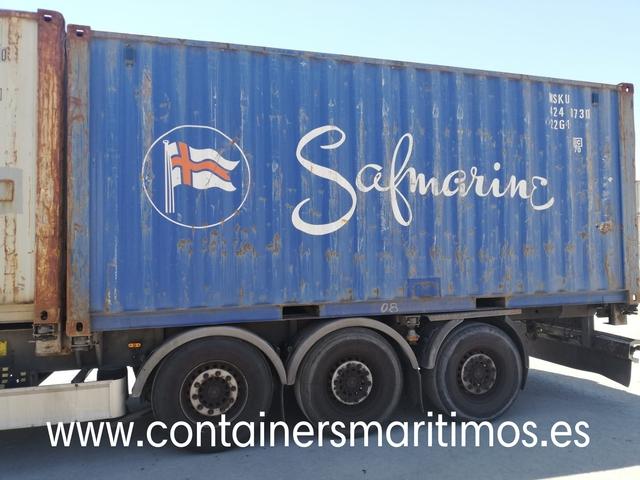 CONTENEDOR MARITÍMOS M. B - foto 2