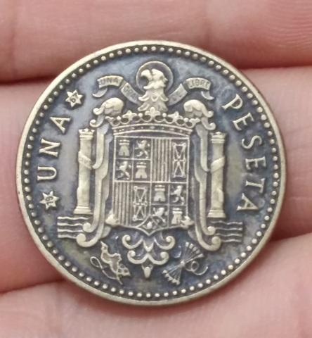 Moneda 1 Peseta 1963-67 Franco