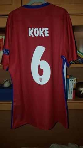 Camiseta Koke Atletico De Madrid 15/16