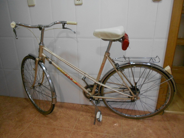 Preciosa Bicicleta De Paseo