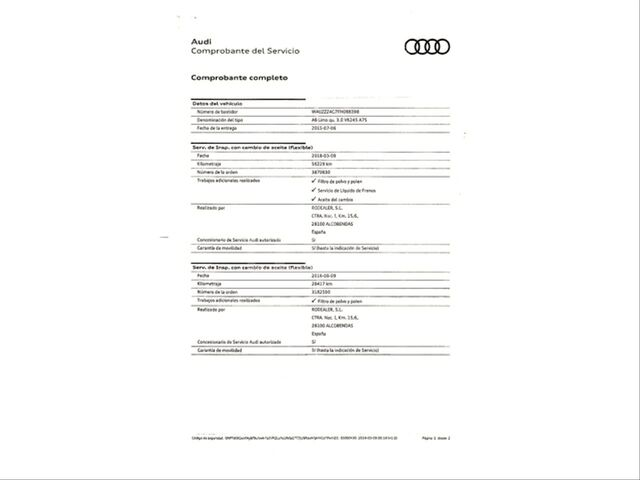 AUDI - A6 3. 0 TFSI 333CV QUATTRO S TRONIC - foto 7