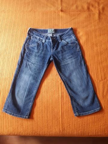 Mil Anuncios Com Pantalones Piratas Bershka Talla 34