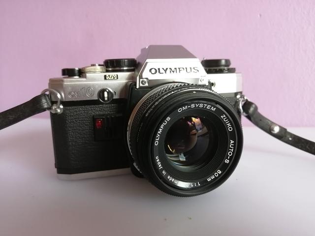 Olympus om20 Manual de la cámara más los libros de instrucción listd