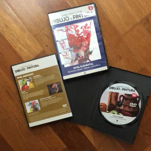 CURSO EN DVD DE DIBUJO Y PINTURA - foto 1
