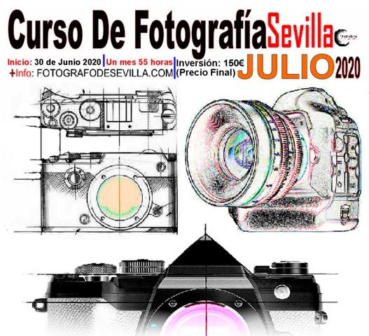 CURSO DE FOTOGRAFIA SEVILLA - JULIO 2020 - foto 1